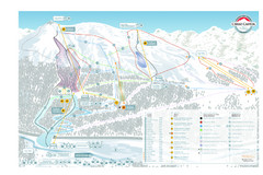 Cerro Castor Ski Trail Map