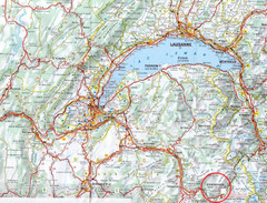 Chamonix Location Map