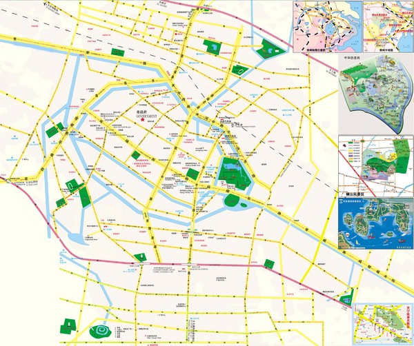 Changzhou Map