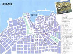 Chania City Map