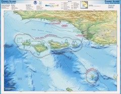 Channel Islands National Marine Sanctuary Map
