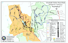 real life map collection • mappery Mansfield Hollow Trail Map on pomfret map, hampton map, middletown map, columbia map, hebron map, manchester map, tar hollow state park map,