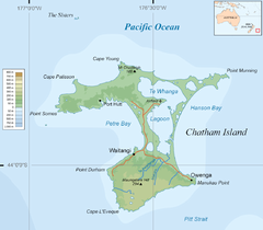 Chatham Island Map