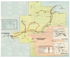 Chena River State Recreation Area map