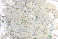Chengdu TouristMap Map
