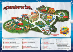 Chessington Zoo Map