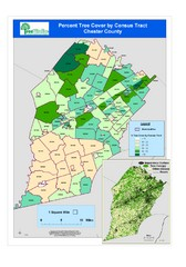Chester County Tree Cover Map