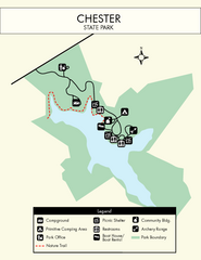 Chester State Park Map