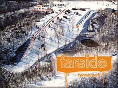 Chestnut Mountain Resort Farside Ski Trail Map