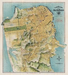 Chevalier map of San Francisco (1912)