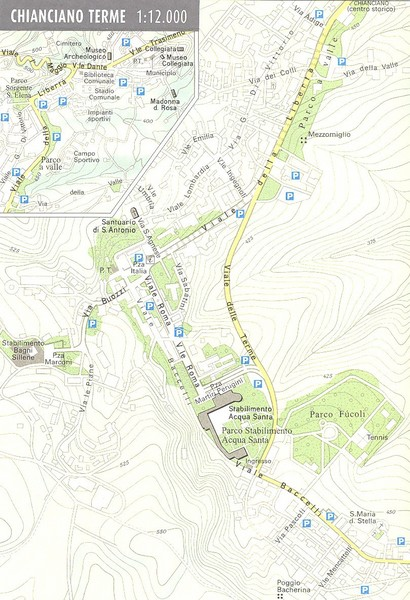 Chianciano Terme Map - chianciano terme it • mappery
