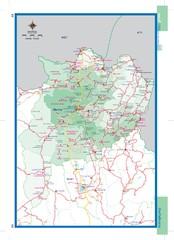 Chiang Rai Tourist Map Chiang Rai Thailand mappery