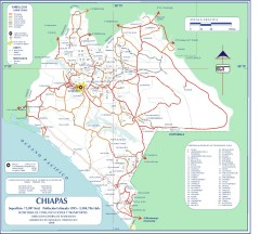 Chiapas Road Map