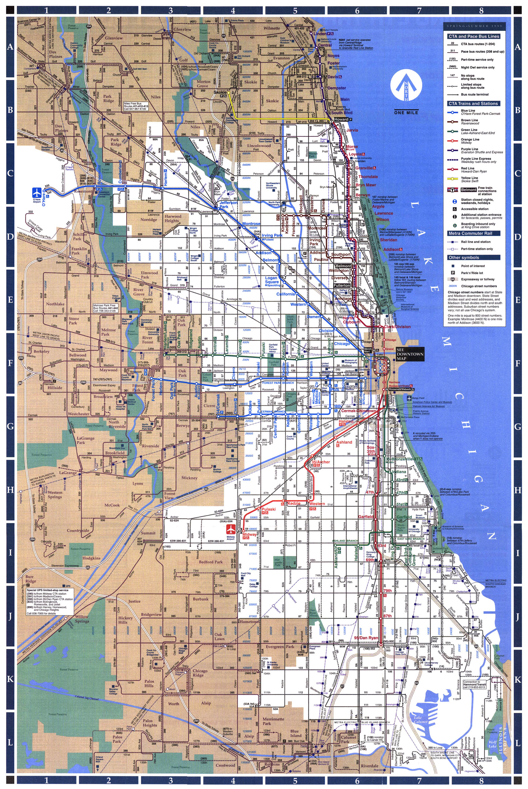 Chicago L System Map - Chicago IL • mappery on map of chicago restaurants, map of chicago rail system, map of mbta system, map of chicago metro, map of patco system, map of chicago river system, map of la metro system, map of chicago train, map of chicago world's fair, chicago train system, map of chicago metropolitan area, map of chicago university campus, map of chicago transportation system, map of chicago metra system,