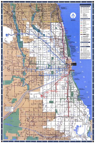 Cta Map Chicago