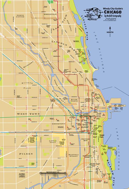 Chicago Neighborhood Map  Chicago  Mappery