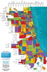 Chicago Neighborhoods Map