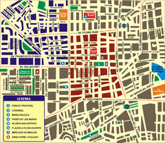 Chiclayo Tourist Map