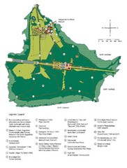 Chiemsee Island Germany Tourist Map