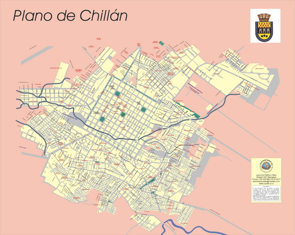 Chillan Map