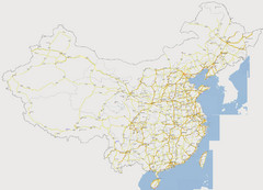 China Major Road Map