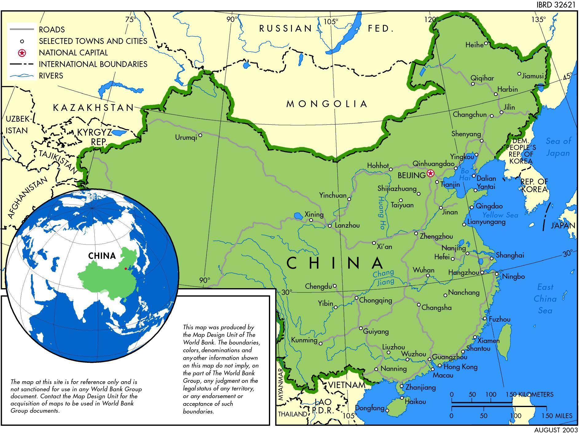 China Map China Mappery