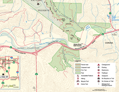 Chino Hills State Park SE Map