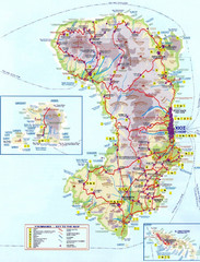 Chios Tourist Map