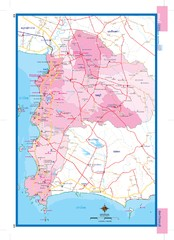 Chonburi, Thailand Map