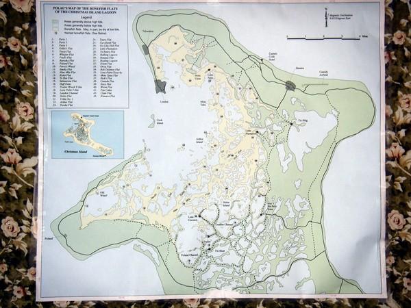 Christmas Island Bonefish Flats Map - Kiritimati • mappery on oceania island map, fiji island map, niue island map, nikumaroro island map, santiago island map, azores island map, manila island map, islands of kiribati map, soberania national park map, kosrae island map, adelaide island map, kingman reef island map, auckland island map, rome island map, baker island map, winnipeg island map, taipei island map, rarotonga island map, efate island map, darwin island map,