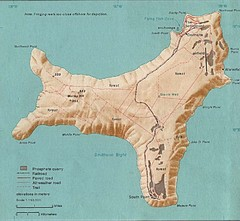 Christmas Island Tourist Map