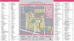 Chulalongkorn University Campus Map