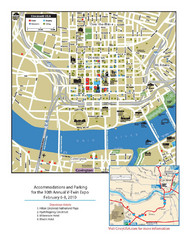Cincinnati, Ohio Restaurant Map