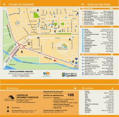 Cipolletti Tourist Map