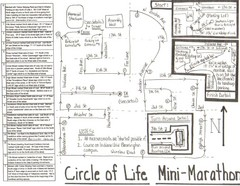 Circle of Life Mini-Marathon Map