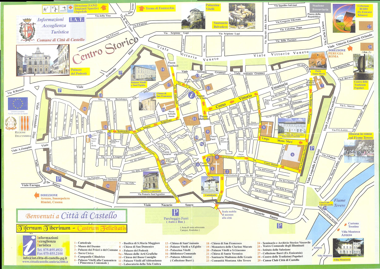 Anghiari Italy Map.Citta Di Castello Map Citta Di Castello It Mappery