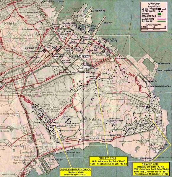 City Map of Yokohama Japan Yokohama Japan mappery