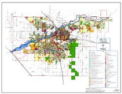 City of Bakersfield Zoning Map