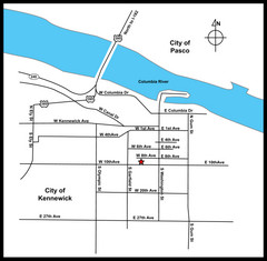 City of Kennewick Map
