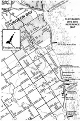 Clay Banks, Wisconsin Survey Project Map