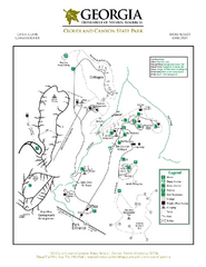 Cloudland Canyon State Park Map