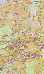 Cluj City Map