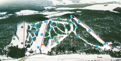 Cockaigne Ski Resort Ski Trail Map