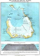 Cocos Islands Map