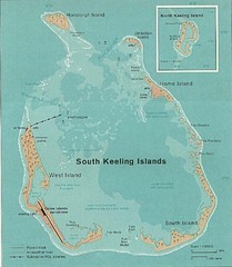Cocos (Keeling) Islands Map