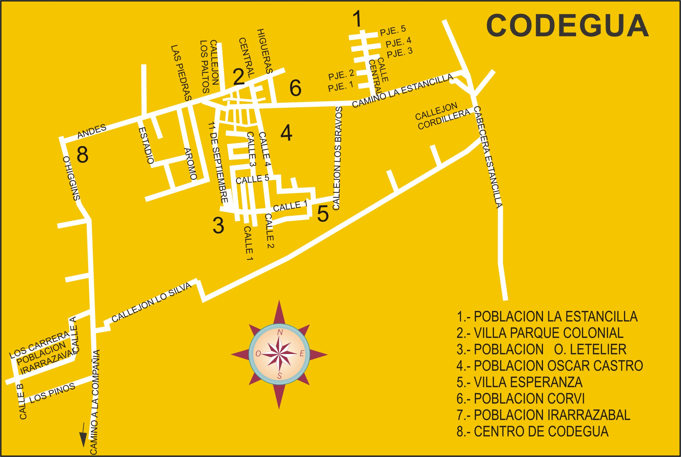 Codegua Map Codegua Chile Mappery