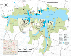 Codorus State State Park map