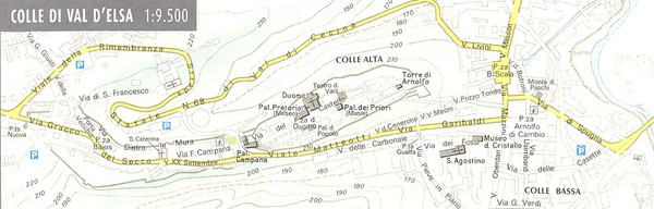 Colle di Val d'Elsa Map