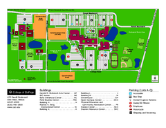 College of Dupage Campus Map