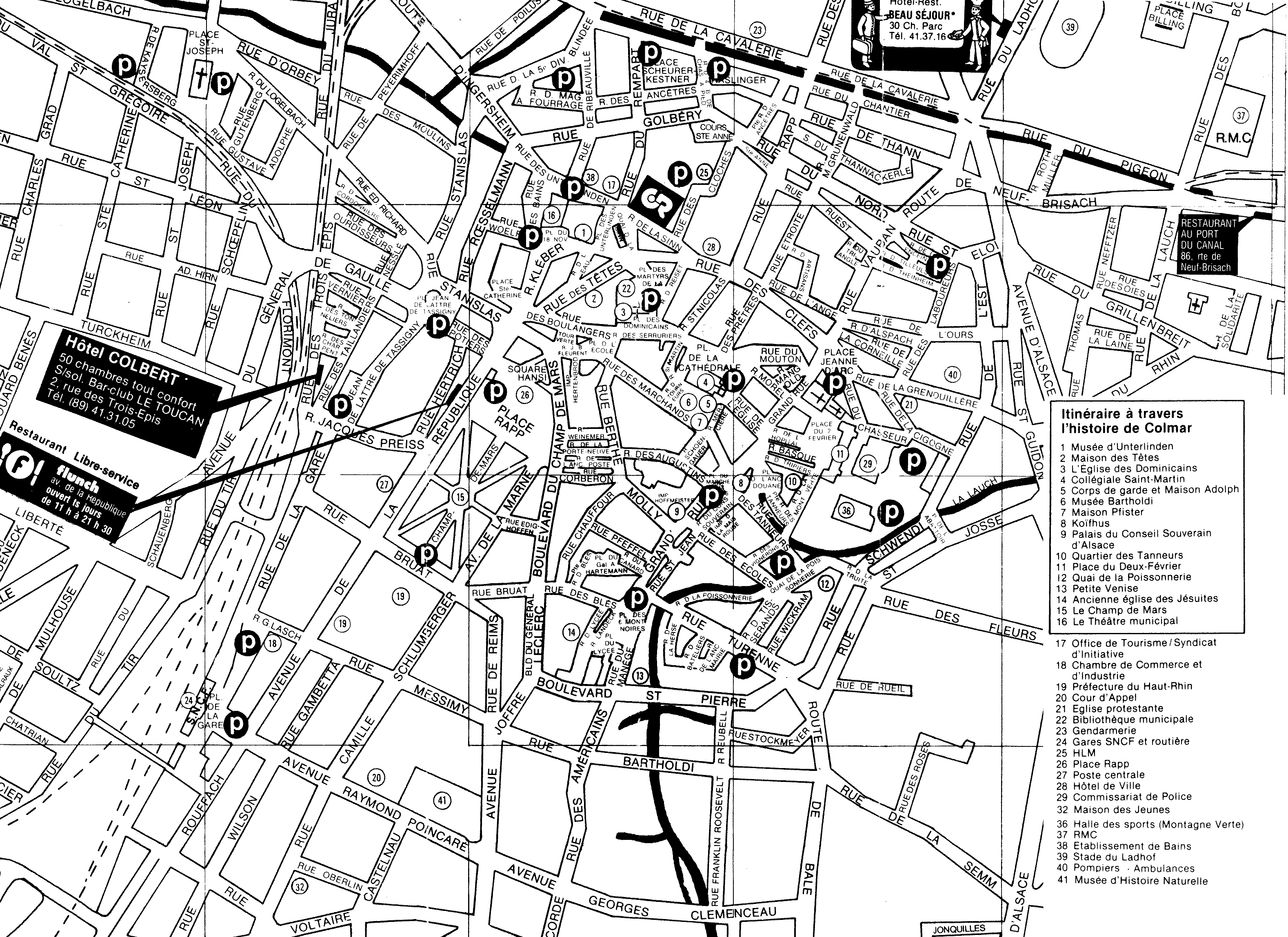 Colmar 1 Map Colmar FR mappery